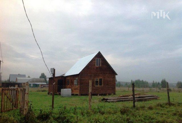 дом каркасно-щитовой на кирпичных столбик ...