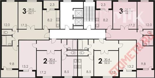 Дизайн квартир серии п-30